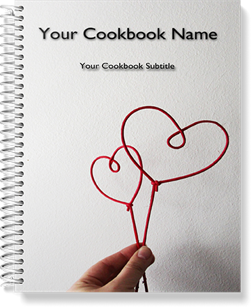 hearts bridal cookbook