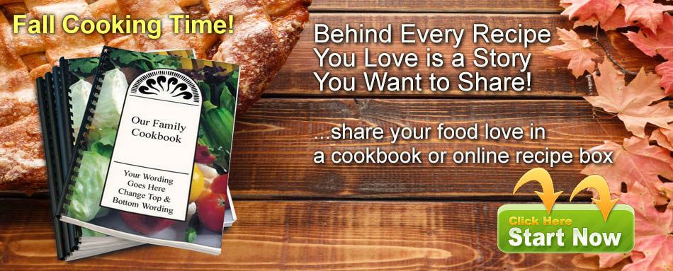 Start your cookbook now!