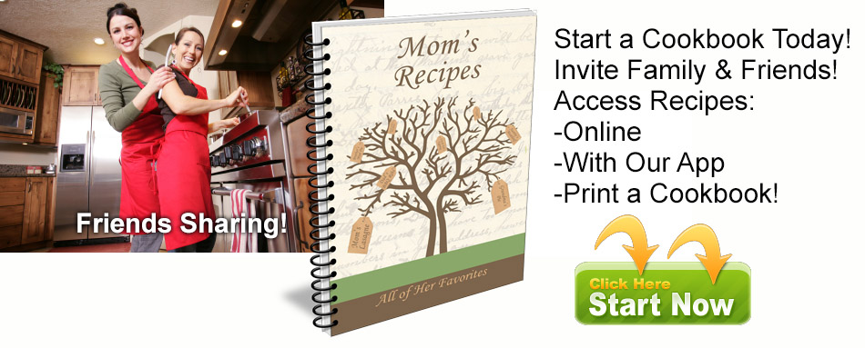 family cookbook project cookbook software to start your own family