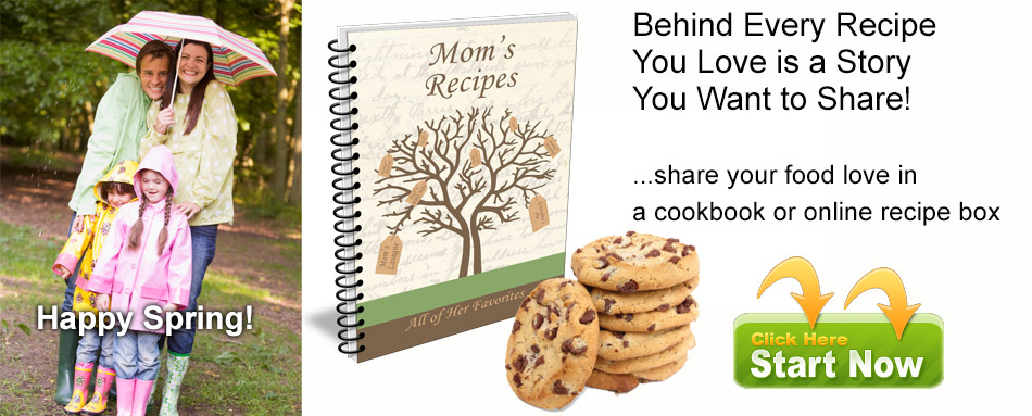 Create an online recipe box