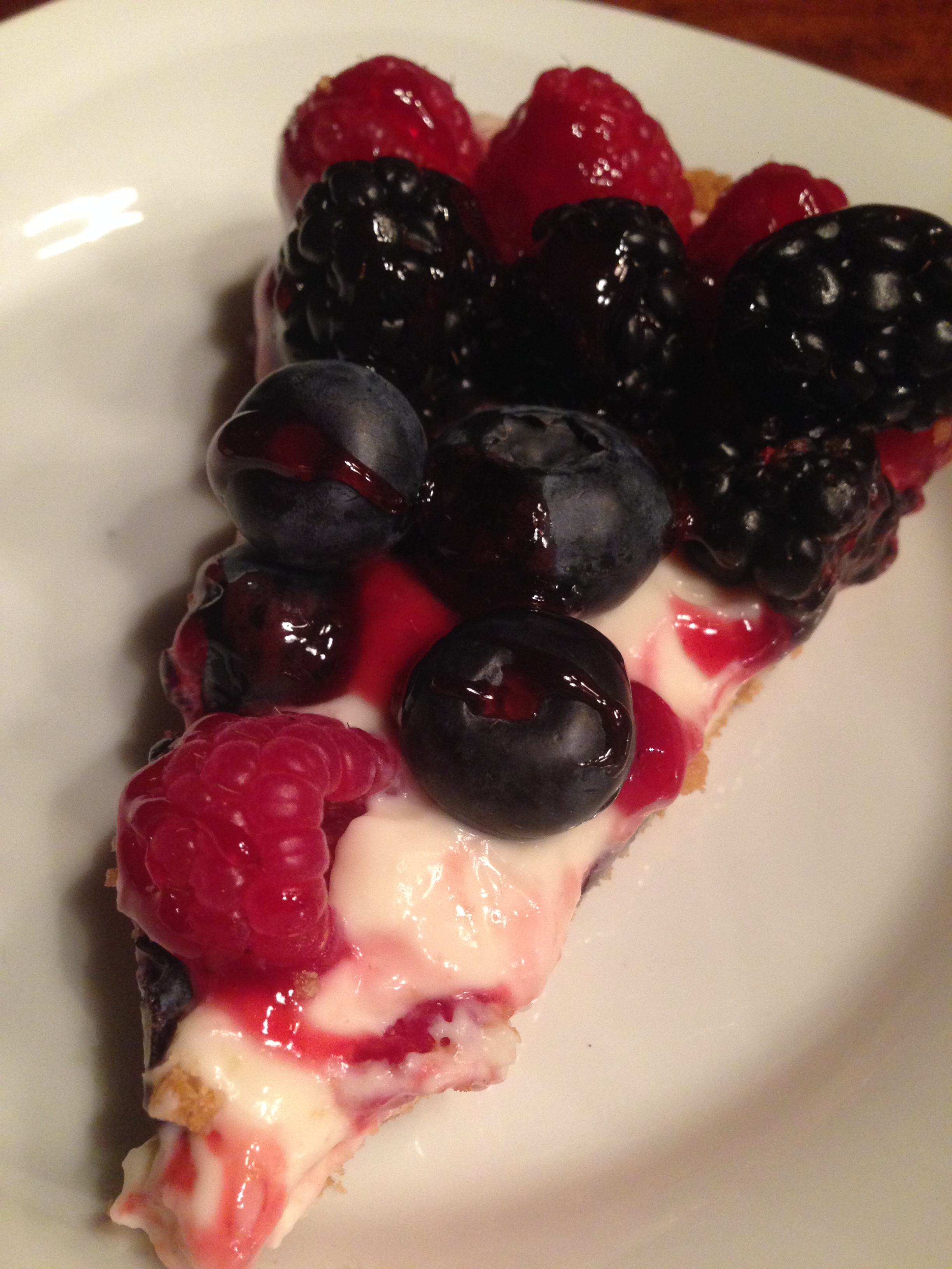 Missy's Raspberry Sour Cream Tart recipe - from the The Donovan Family ...