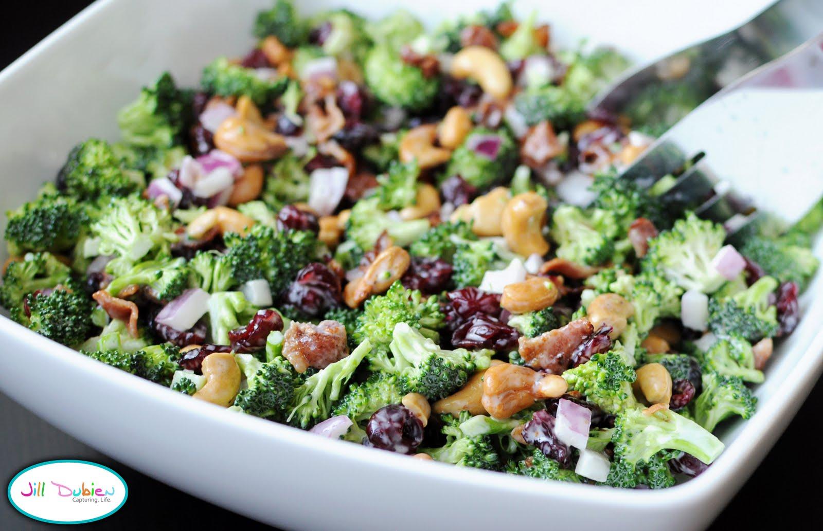Рецепт из брокколи салат вкусно и