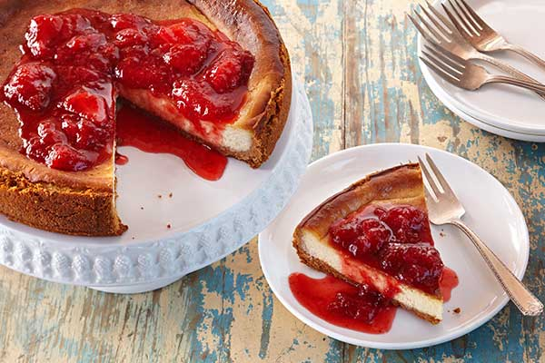 This recipe for Strawberry-Coconut Cheesecake, by Lynne Burton , is ...