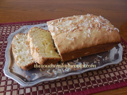 COCONUT CREAM CHEESE POUND CAKE recipe - from the The Kleber Family ...