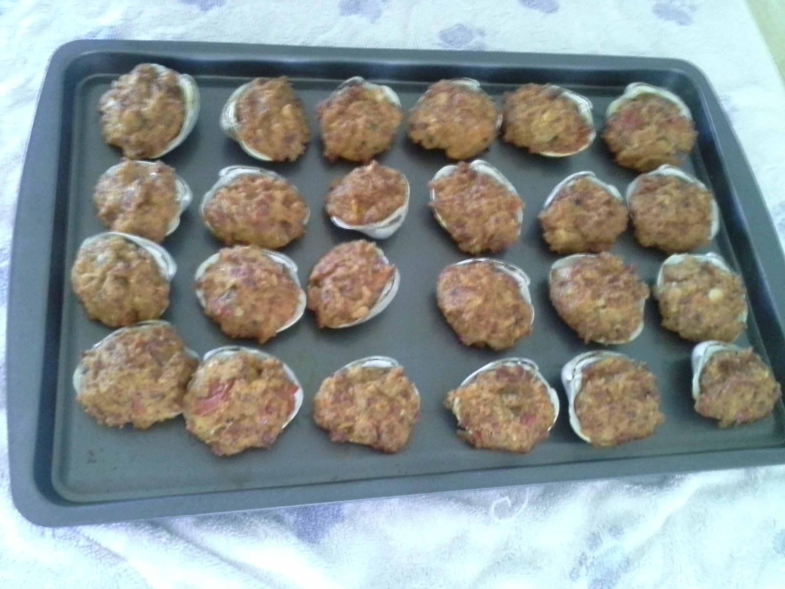 Stuffed Quahogs recipe - from the Cooking On Cape Cod Family Cookbook