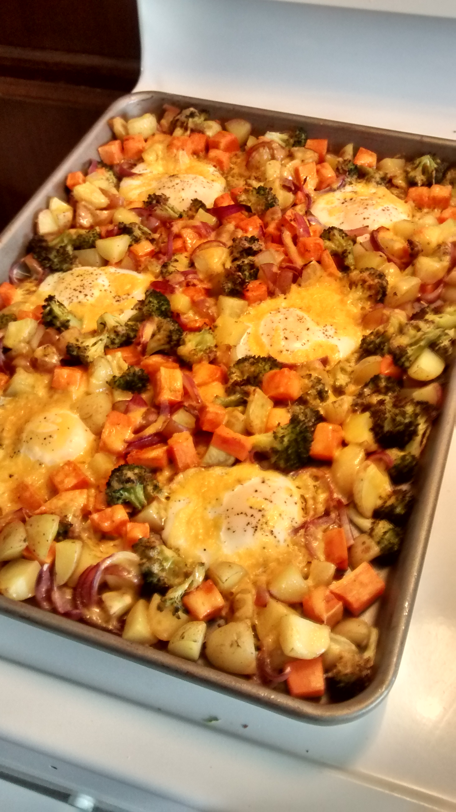 This recipe for Egg and Veggie Casserole, by Ashley Cook , is from The ...