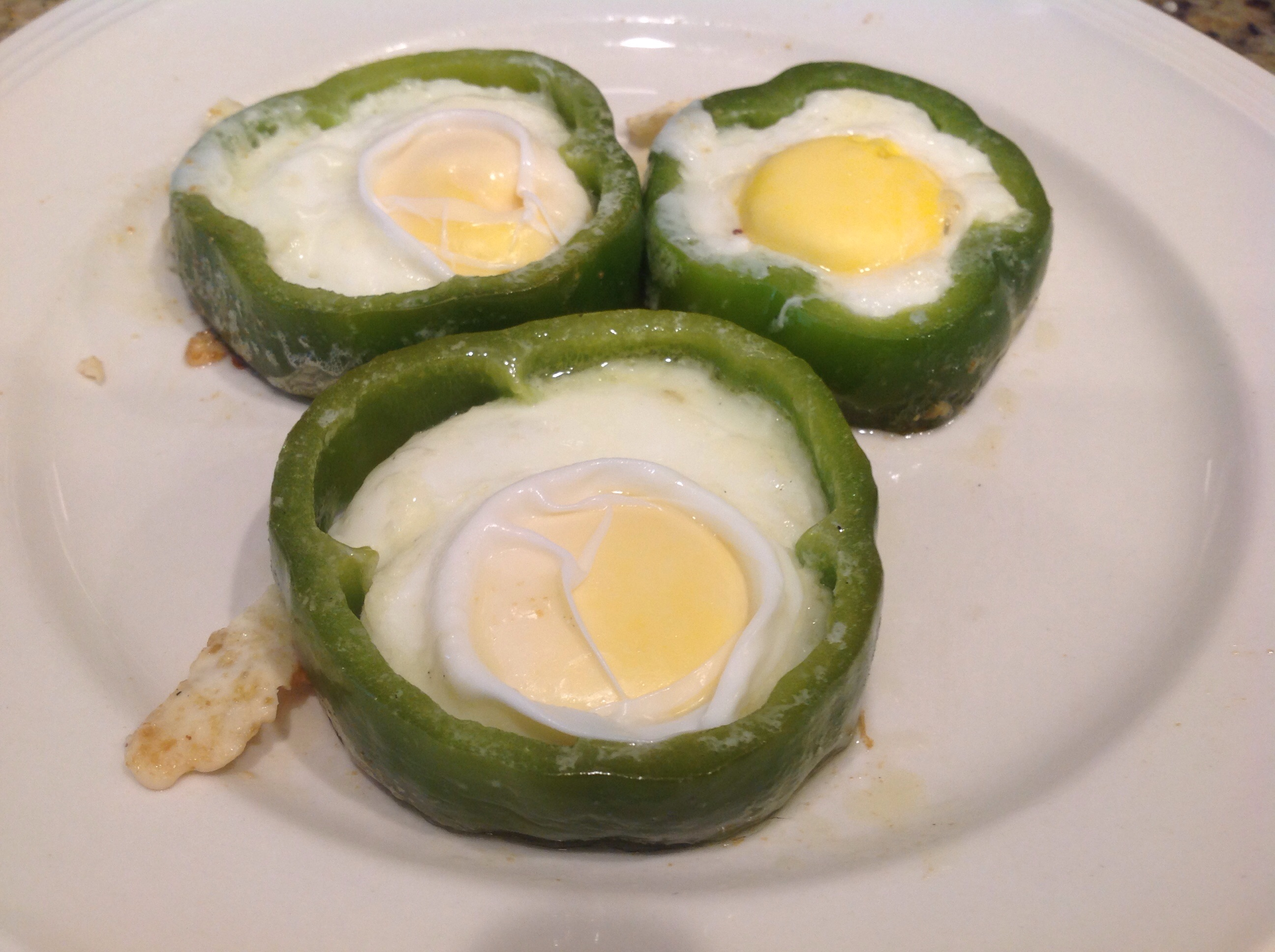 Bell Pepper Egg Flowers recipe - from the Our Family Cookbook Project ...