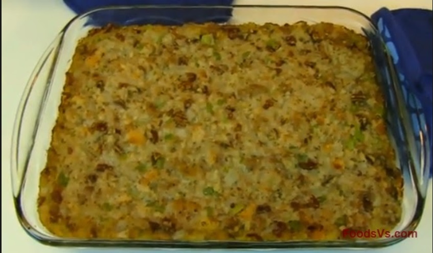 Sage Corn Bread Dressing recipe - from the Rhonda's Cookbook Family ...