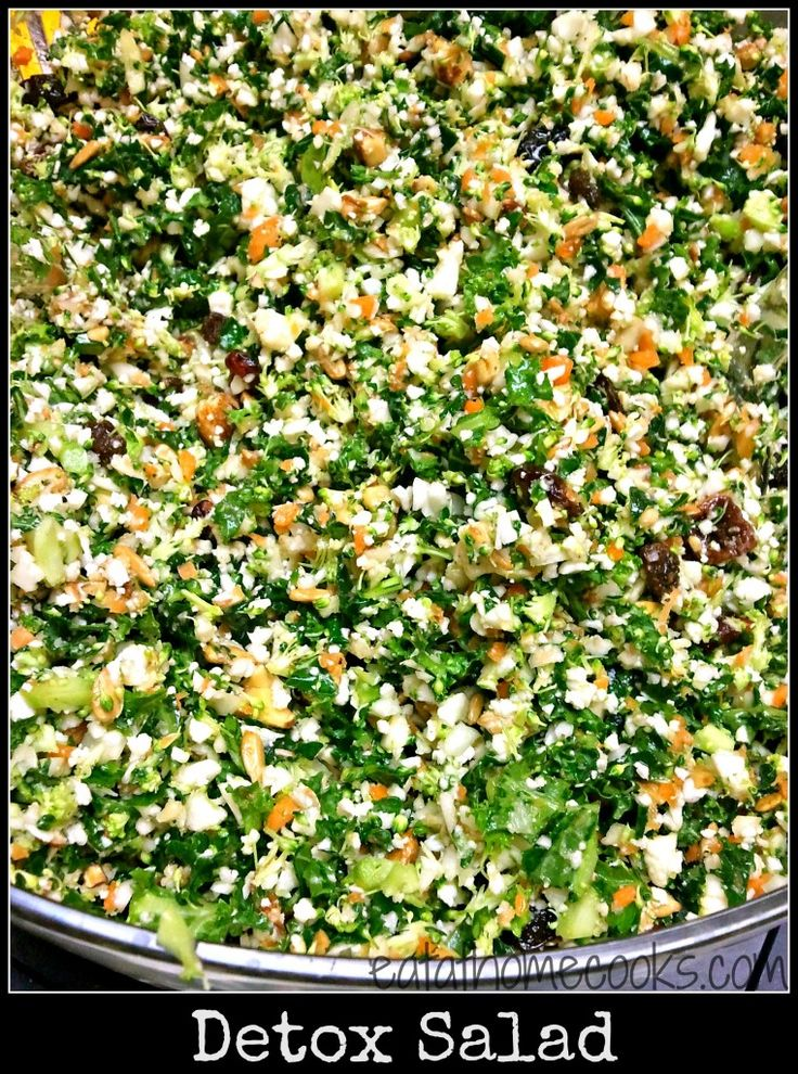 Detox Salad recipe - from the Greg's Cookbook Family Cookbook
