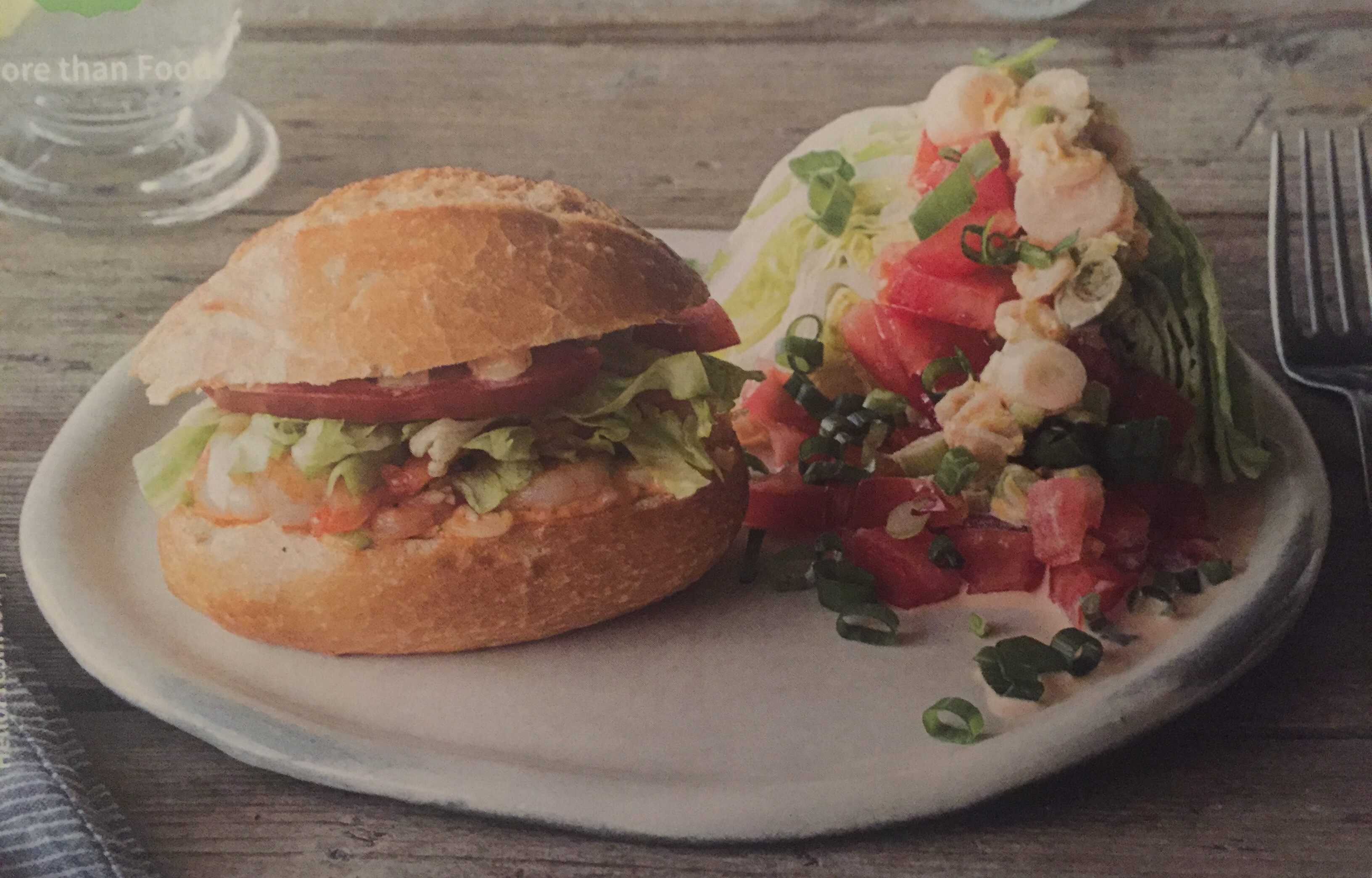 Shrimp Po' Boys with Remoulade & Creole Wedge Salad recipe - from the...