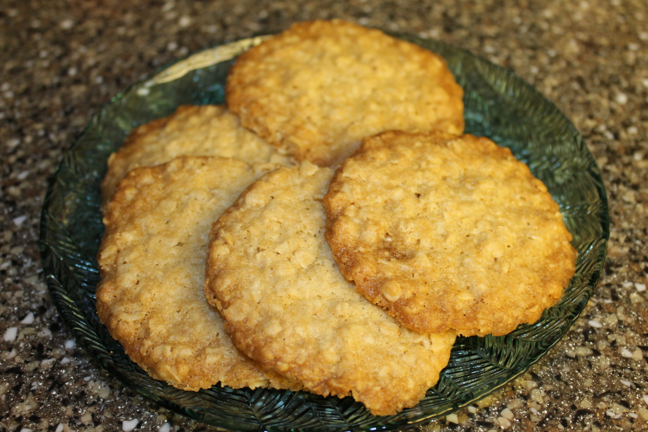 This recipe for Thin and Crispy Oatmeal Cookies, by Sandra Kendel , is ...