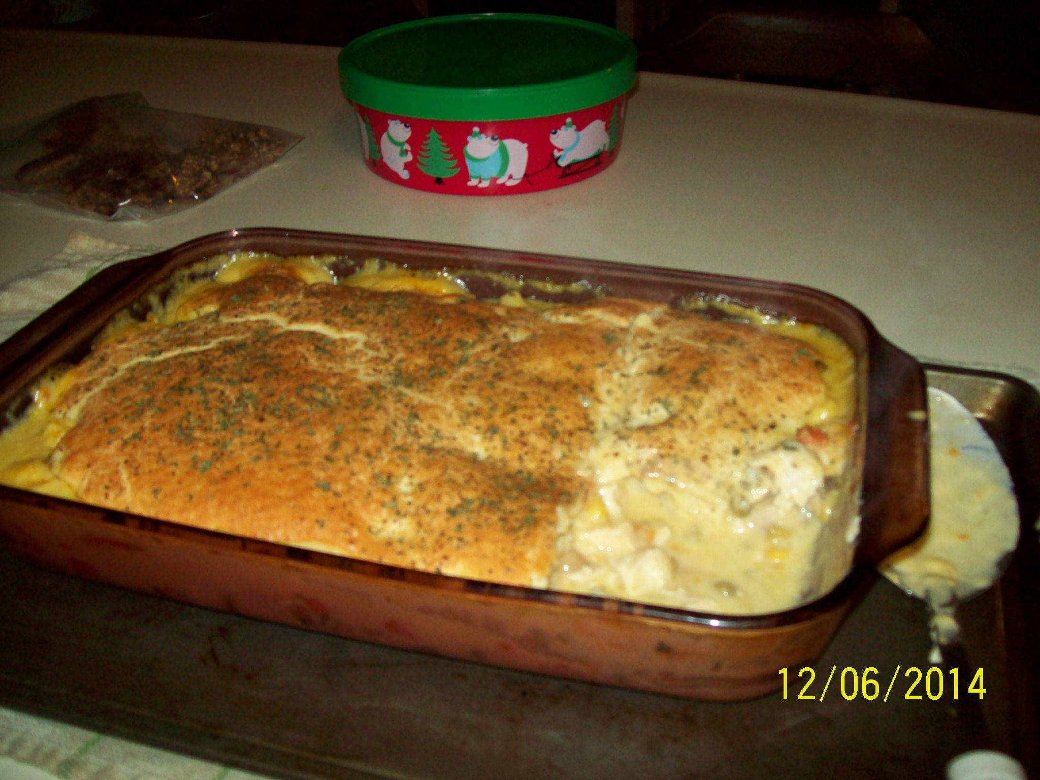 This recipe for Janet's Chicken Pot Pie.., by janet bumala , is from ...
