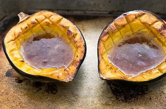 This recipe for Classic Baked Acorn Squash, by Claudia Barrett , is ...