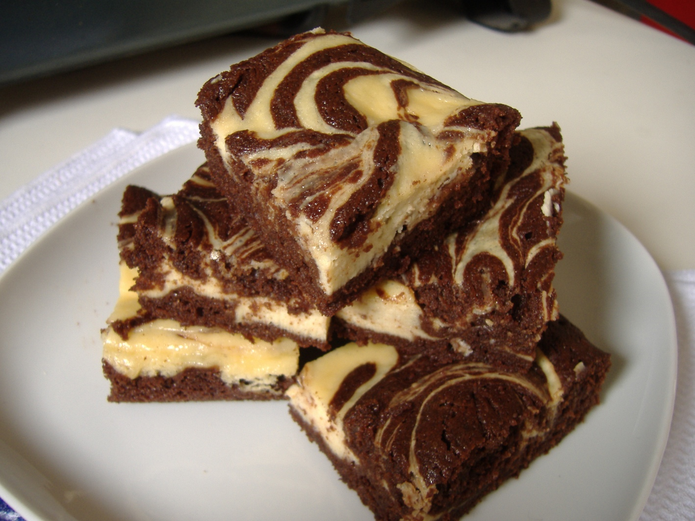 Marbled Brownie Bars recipe - from the Family Recipes Family Cookbook