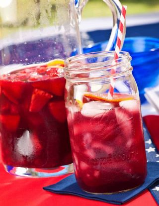 Summer Berry Sangria image