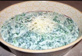 Spicy Creamed Spinach image