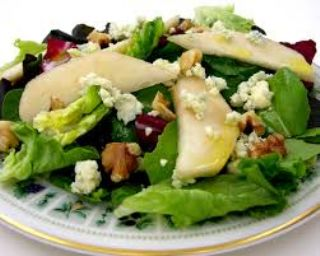 Pear and Blue Cheese Salad image