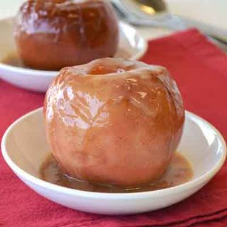 Butter Cream Baked Apples image