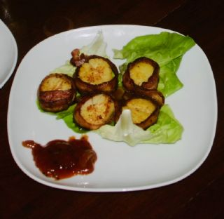 Bacon Wrapped Scallops image