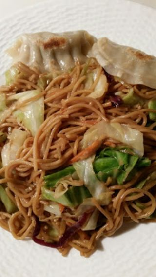 LEFTOVER SPAGHETTI TURN INTO LO MEIN DINNER image