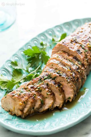Grilled Asian Pork Tenderloin image