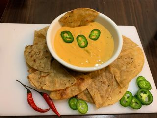 Zoey's Home Made Tortilla Chips With Canna Infused Cheese Sauce image