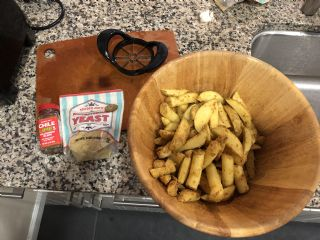 Baked Potato Wedges image