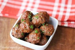 Baked Meatballs With No Breadcrumbs image