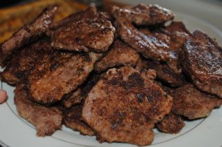 Fried Venison Steak and Gravy image