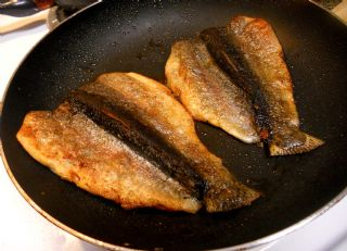 Fried Trout image