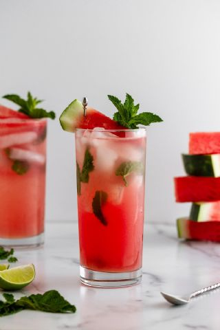 Watermelon Mojitos image