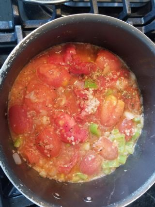 Stewed Fresh Tomatoes image