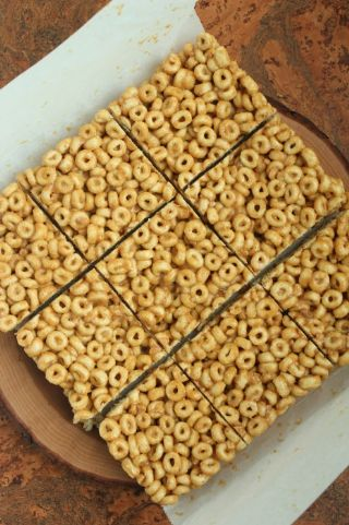 Peanut butter honey bars image