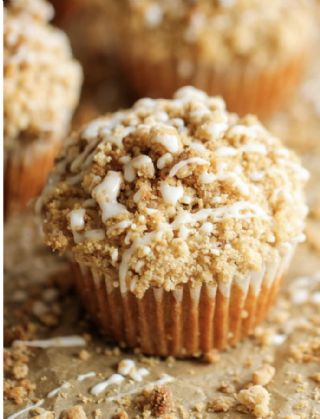 Coffee cake muffins image