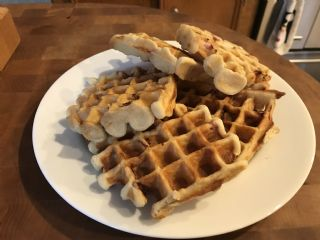 Sourdough Waffles and Pancakes image