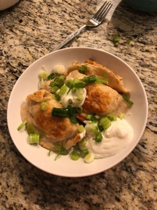 Pyrohy (Perogies) also called varenyky image