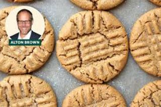 Alton Brown Peanut Butter Cookies image