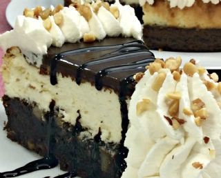 Hot Fudge Sundae Brownie Cheesecake image