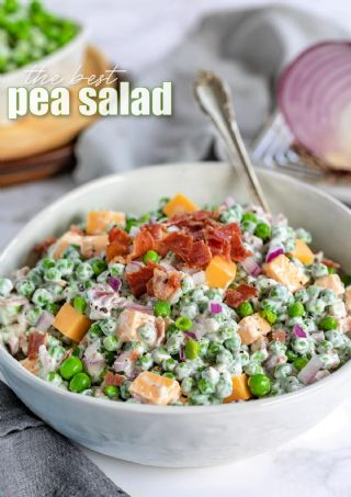 Easy Pea Salad image