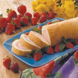 Angel Food Cake Roll image