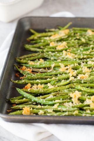 Roasted Parmesan Green Beans image