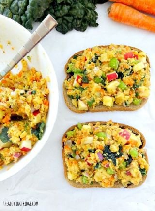 Mashed Chickpea Salad Sandwichs image