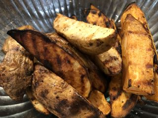 Grilled Potato Wedges image