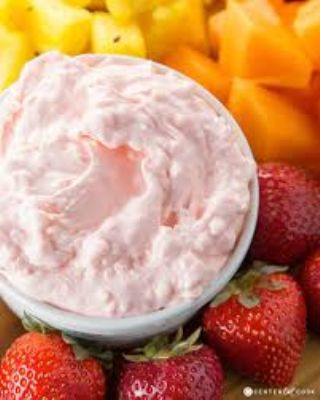 Marshmallow Fruit Dip image