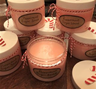 Peppermint Sugar Scrub image