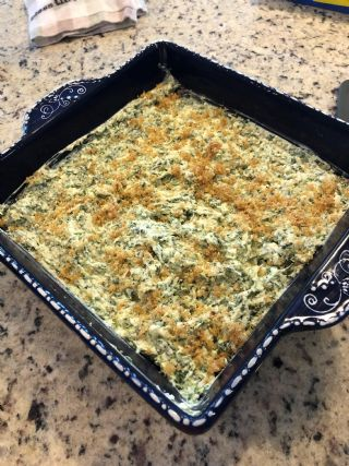 Savory Spinach Dip image
