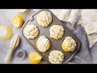 Low Carb Lemon Poppyseed Muffins image