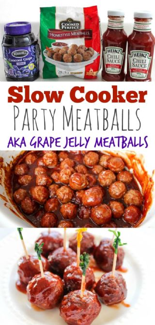 Grape Jelly Meatballs image