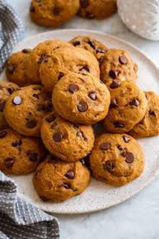 Pumpkin Chocolate Chip Cookies image