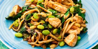Peanut Chicken w/Soba Noodles image
